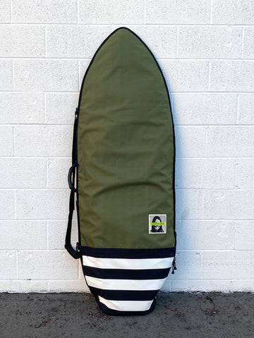 Green Fuz Pendleton Fish Travel Board Bag