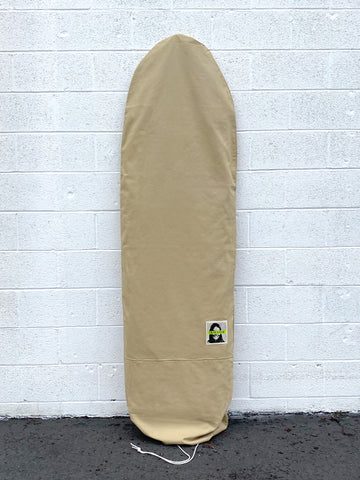 Green Fuz Sessions Canvas Board Bag
