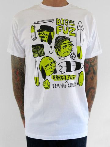 Terminal Radness Green Fuz T-Shirt