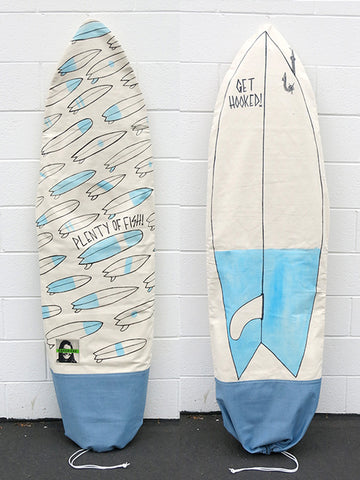 Terminal Radness Plenty of Fish Board Bag