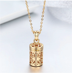Essential Oil Perfume Bottle Diffuser Necklace