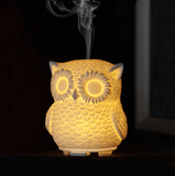 Portable Ultrasonic Essential Oil Owl Diffuser