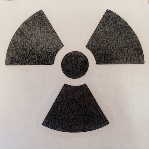 Radiation Sticker