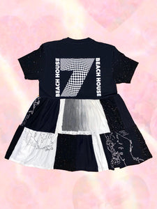 build your own custom patchwork t-shirt dress!!