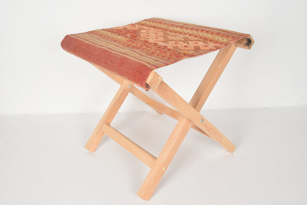 Kilim Seating Stool, Footstool, Chair T4
