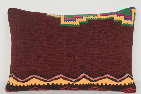 Kilim Pillow Covers made in Turkey E00404 Lumbar Special Adornment Textile