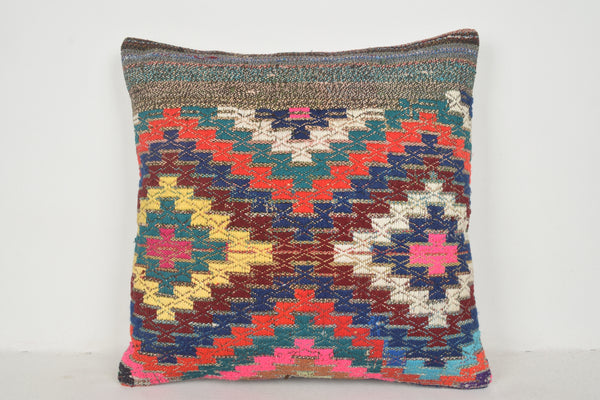 Kilim Southwestern Pillows A00405 24x24 Handknit Cross-stitch Regional