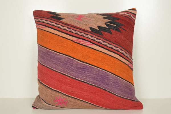 Kilim Throw Pillow A00806 Normal Knitting Shabby Chic
