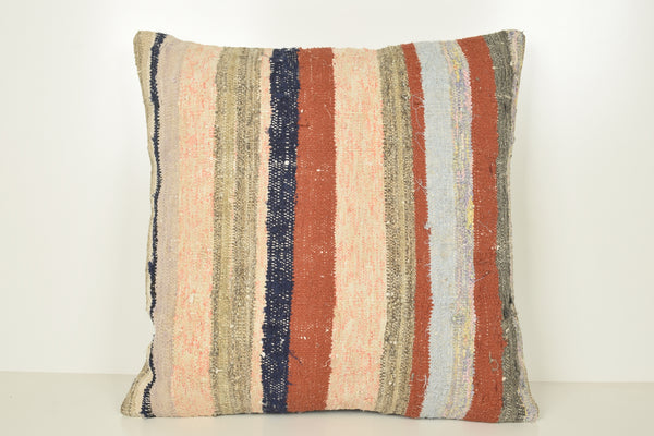 Kilim Pillow Wholesale A00907 24x24 Mexican Natural Kelim Sale