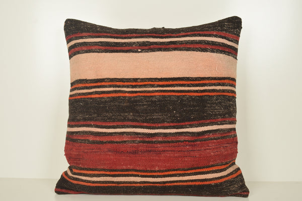 Outdoor Kilim Cushion A01009 24x24 Knitted Hellenistic Hand Crafted