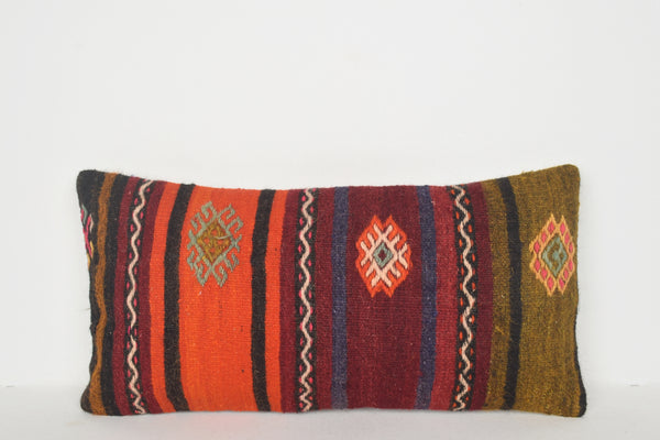 Spotlight Kilim Rugs Pillow F01313 Lumbar Antique Special Accents