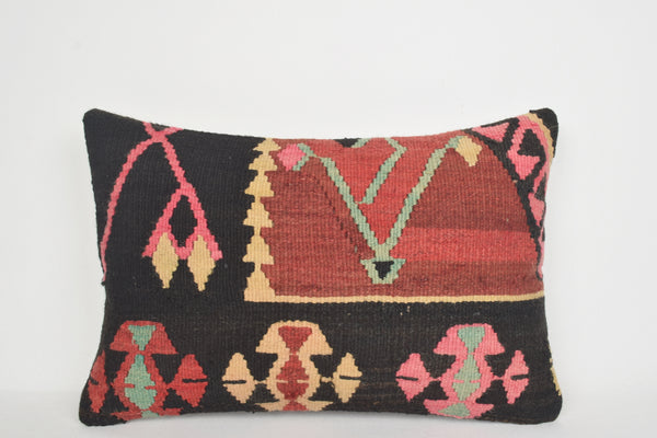Long Kilim Cushion E00113 Lumbar Society Mythological Design