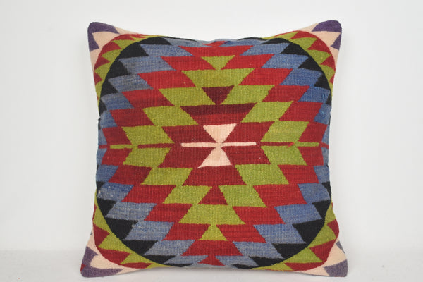 Kilim Pillows for sale A00117 24x24 Flat weaving Pretty Nursery