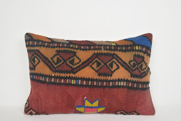 Kilim Cushion Covers Australia E00118 Lumbar Woven Old Sham