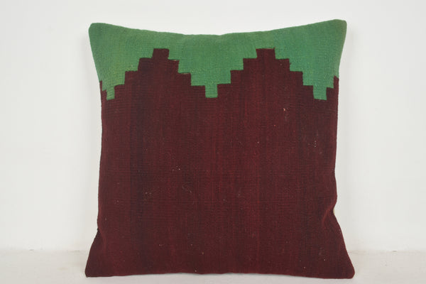 Used Kilim Pillows A00618 24x24 Comfortable Mid Century Economical