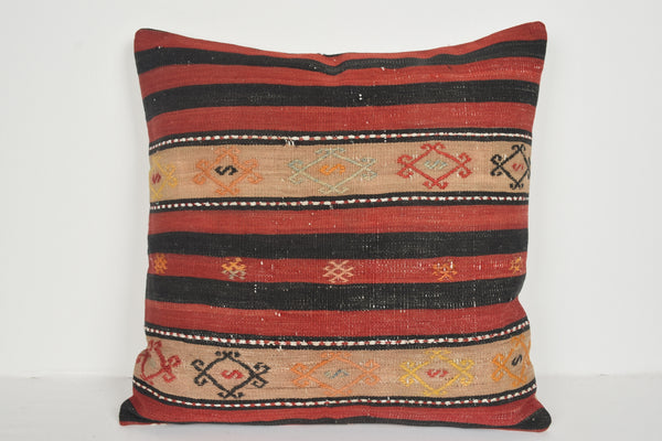 Vintage Kilim Pillow Covers A00719 Bright pillow cases 24x24