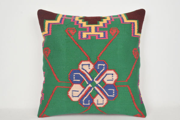 Turkish Kilim Pillows 24x24 A00019 Economical Knit Sale Folk Craft