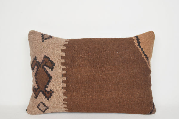 Kilim Cushion Pillow E00020 Lumbar Inexpensive Classic Berber Cheap