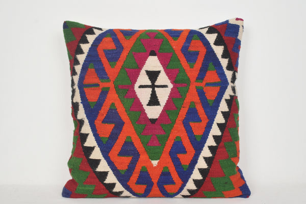 UK Kilim Pillows 24x24 A00020 Adorning Gypsy Primitive Decorator Floral