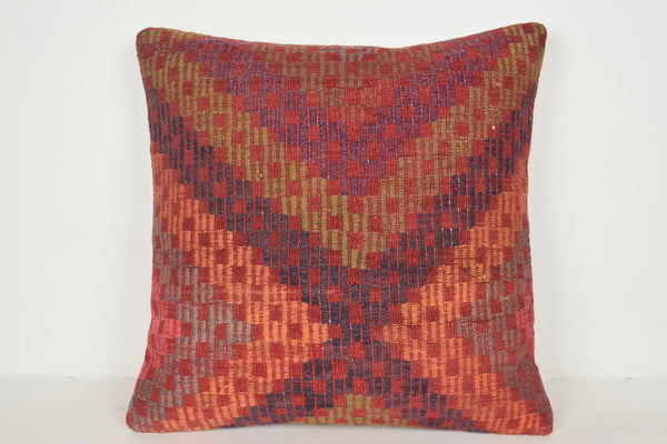 Kilim Body Pillow Cover A00521 24x24 Decoration pillow covers Kelim pillows