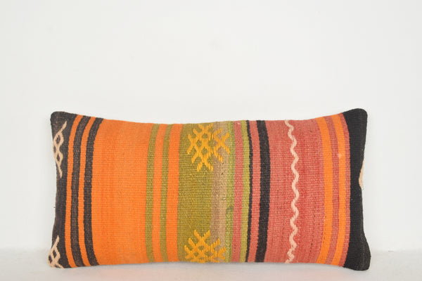 Southwestern Wool Pillows F00521 Lumbar Unique Old Large Tapestry