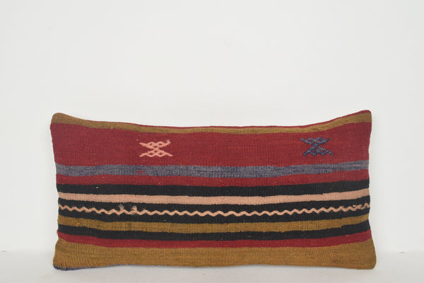 Kilim Patterned Pillow F01324 Lumbar Economical Hotel Bench