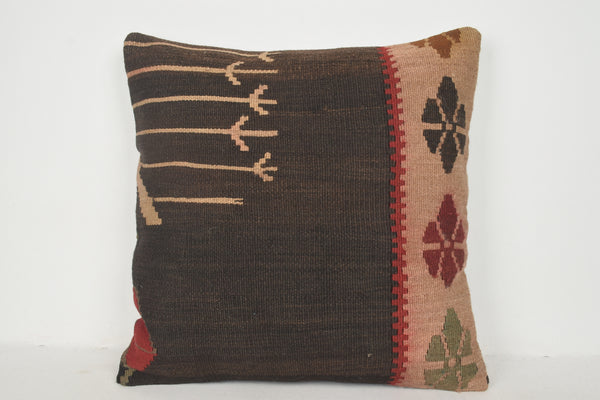Kilim Cushions Byron Bay A00325 24x24 Retro Art Embroidered Low-priced