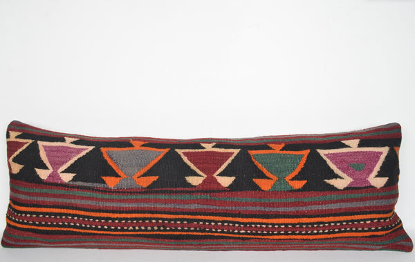 Moroccan Kilim Rugs for Sale Pillow I00026 Lumbar Economical Throw