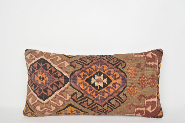 Kilim Cushion Turkey F00028 Lumbar Hotel Furnishing Nursery