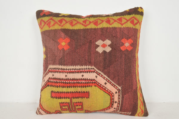 Kilim Cushions on EBAY A00428 24x24 Needlework Rich Flat Weaving
