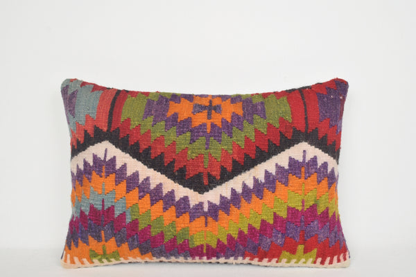Kilim Indoor Throw Pillows E00229 Lumbar Inexpensive Celtic Tradition