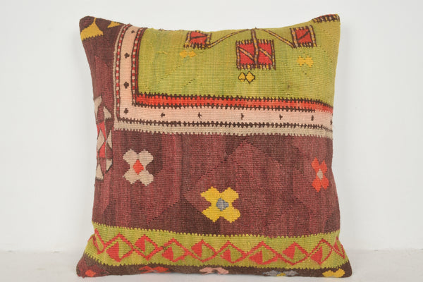 Kilim Cushion Covers A00429 24x24 Hellenistic Western Pretty Reasonable