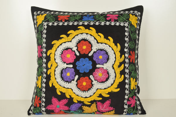 Suzani Pillow Ebay A01030 24x24 Cotton National Technical Decorator