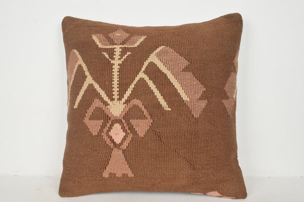 Kilim King Pillowcase A00330 24x24 Hand Crafted Great Beach Traditional