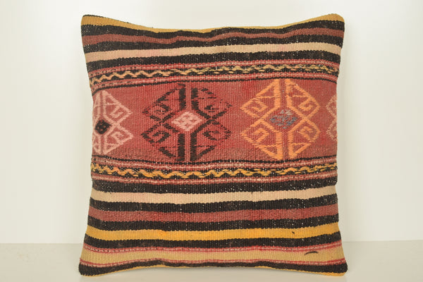 Turkish Cushions UK C01631 18x18 Rich Hand Woven Original