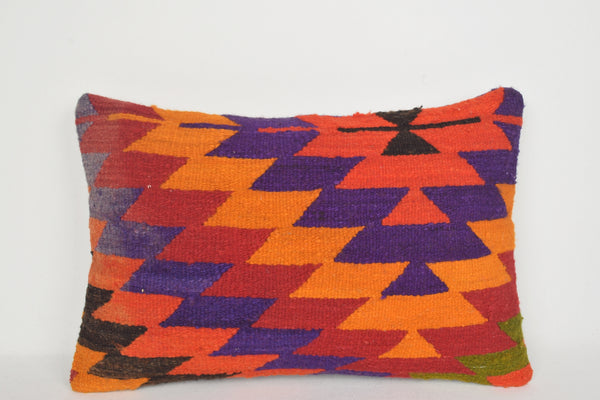Turkish Print Pillow E00131 Lumbar Woolen Beach Handicraft