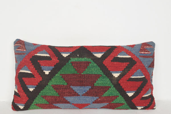 Turkish Rugs NYC Pillow F00432 Lumbar Historical Excellent Inexpensive
