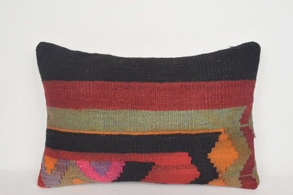 Ottoman Kilim Cushion E00035 Lumbar Boho Needlepoint Collection