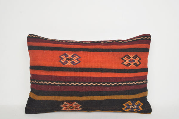 Turkish Style Throw Pillows E00136 Lumbar Bench Folk Pouf Pattern