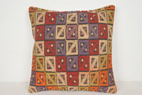 Kilim Pillow Covers Ebay A00437 24x24 Free Shipping Mexican Primitive