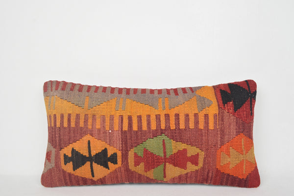Overstock Bohemian Pillows F00037 Lumbar Retro Decorator Wool Large