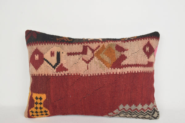 Turkish Corners on Cushions E00037 Lumbar Village Woolen Embroidered