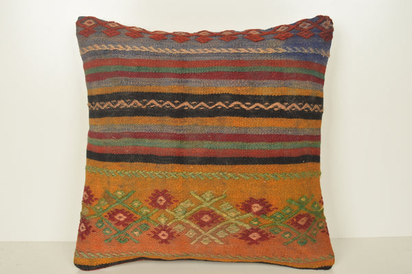Turkish Rug Pillows C01638 18x18 Boho Right Whole Solid Eclectic