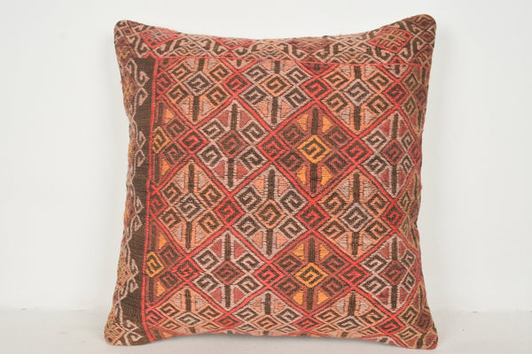 Modern Kilim Pillows A00538 24x24 Coastal Hand woven Economical