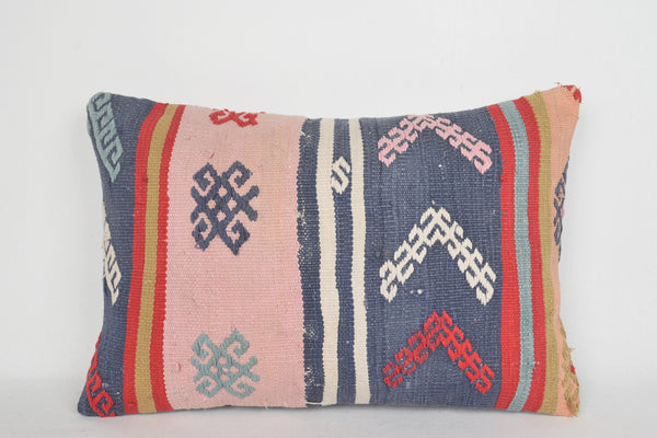 Turkish Embroidered Cushions E00140 Lumbar Neutral Mid Century Flat