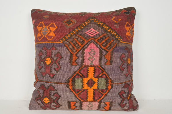 Turkish Embroidered Pillows A00344 24x24 Handwork Precious Navajo