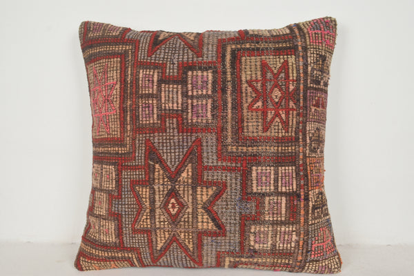 Old Kilim Pillows A00447 24x24 Wedding cushion covers Handmade pillow cover