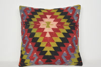 Kilim Cushion Ebay A00047 24x24 Woven Hand crafted Decoration Accents