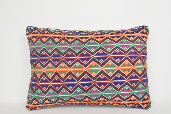 Turkish Pillow Covers E00148 Lumbar Knit Kelim Southwestern
