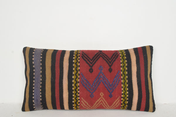 Layering Kilim Rugs Pillow F01548 Unusual Handwork Soft Sofa African